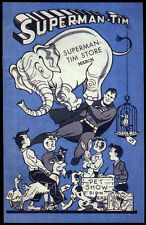 SUPERMAN REPRO 1944 SUPERMAN-TIM STORE BOOKLET . DC COMICS