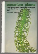 "[46692] ""AQUARIUM PLANTS"" by KAREL RATAJ & THOMAS HOREMAN (1977, HARDCOVER)"