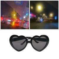 Special Effects Eyeglasses Peach Heart Light Glasses Creative Women Girl's Gifts