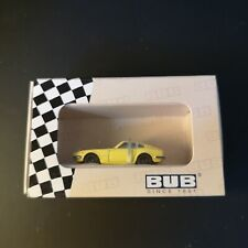 1:87 BUB 09003 Nissan Fairlady yellow Japan Edition 2008 limitiert neuwertig OVP