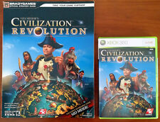 Xbox 360 Game - Sid Meier's Civilization Revolution c/w Official Guide