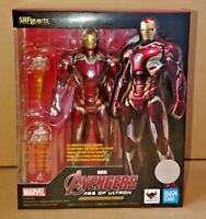 Bandai S.H Figuarts Iron Man Mark 45 Action Figure Marvel Age of Ultron