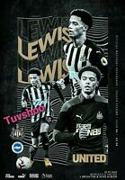 Newcastle United v Brighton & Hove Albion 20/9/20 Programme! READY TO POST!!!