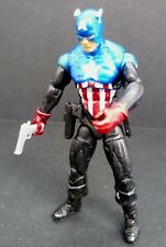 "Marvel Universe Ultimate Captain America Shiny Action Figure 3.75"" Hasbro 2011"