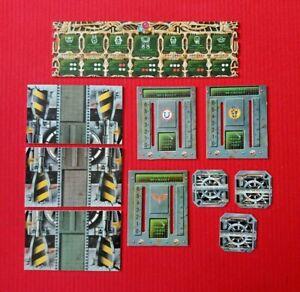 Space Crusade Bundle Alien Control Panel Boards Docking Boards & Doors MB Games