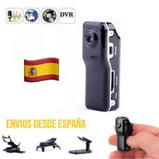 Mini Cámara Deportiva DVR Digital Moto Coche Bici Espía USB TF SD