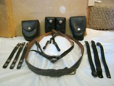 Vintage Regular belt and leather belt accessories Preowned