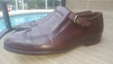 Vintage Brooks Brothers Wingtip Buckle Loafers. Brown. Size 11 M