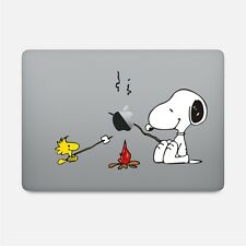 Snoopy and Woodstock Camp Fire Sticker for Macbook Pro/Retina MODEL2016-2018