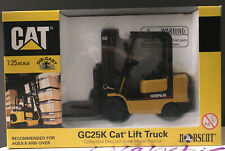 Norscot Caterpillar GC25K Cat Lift Truck 1/25 Scale Collectible Die-Cast