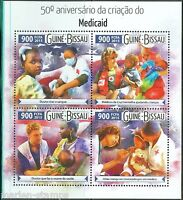 GUINEA BISSAU  2015 50th ANNIVERSARY OF MEDICAID SHEET MINT NH