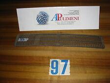 GRIGLIA/MASCHERINA COFANO ANTERIORE (FRONT GRILLE) FIAT 124 COUPE' SPORT