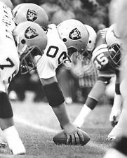 JIM OTTO OAKLAND RAIDERS LEGEND PRO BOWL CENTER ACTION ON THE LINE 8 x10
