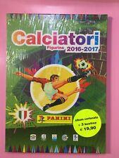 PANINI ALBUM VUOTO CARTONATO HARD COVER CALCIATORI 2016 2017 SIGILLATO 3 BUSTINE