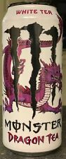 NEW MONSTER DRAGON TEA WHITE TEA ENERGY DRINK 15.5 FL OZ FULL CAN UNLEASH DRAGON