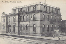 Post Office WINDSOR Ontario Canada 1907-15 Nerlich & Co. Postcard