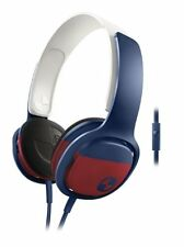 Philips O'Neill Cruz Headband Headphones, Blue/Red