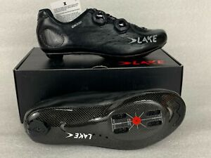 LAKE CX332 Speedplay Black/Silver ROAD CYCLING SHOES SPDPLY NEW