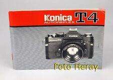 Konica T4 originale Bedienungsanleitung 03813
