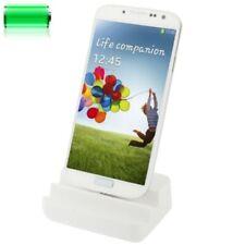 Samsung Galaxy S4 Ladegerät Tischladestation Data Dock Ladestation Weiß