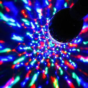LED BC or Battery Disco Ball Rotating Stage Lighting Party DJ Club Light Bulb