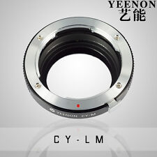YEENON Zeiss YC Lens to Leica M Mount Adapter (No rangefinder coupled )