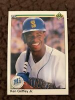 "1990 UPPER DECK KEN GRIFFEY JR. Super Rare ""ERROR"" No Copyright Logo, MINT"