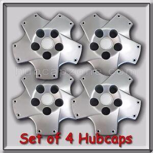 2002-2010 Lexus SC430 Wheel Center Caps Silver Fits SC-430 Hubcaps Free Ship.