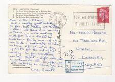 3d para pagar franqueo pagado insuficiente T 18/80 1970 de Francia 395b