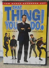 That Thing You Do! (DVD 2007 2-Disc Director's Cut) RARE TOM HANKS MUSICAL NEW