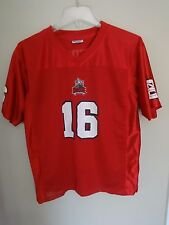 Vintage ProEdge NC State Wolfpack # 16 Football Mesh Jersey Youth Large 16/18