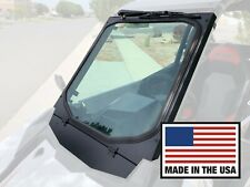 Polaris RS1 Glass Windshield with Vent and Wiper, BIllet Mounts, UTVZILLA