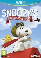 Snoopy's Grand Adventure (Wii U Game) *VERY GOOD CONDITION*