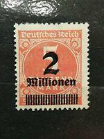 German Stamps -- German Empire 1923 Overprinted Stamp