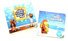 The Way To Jannah / Allah Knows All About Me - 2 Books (Hardback - Cardboard)