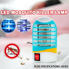 Bug Zapper Plug in Mosquito Killer Electronic Insect Trap Fruit Flies Flying
