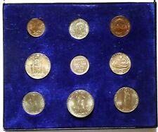 VATICANO - PIO XI - Rara serie 1936 in cofanetto originale (8 monete +medaglia)