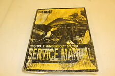 HARLEY DAVIDSON OEM BUELL 1999 -2000 THUNDERBOLT S3/S3T SERVICE MANUAL 99489-00Y