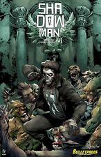 Shadowman #1 Bulletproof Exclusive!  Limited to 500 copies NM 9.6+
