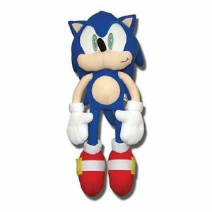 """SONIC THE HEDGEHOG PLUSH BIG LARGE HUGE 22"""" AUTHENTIC NEW. IN STOCK!"""