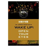 New BTS Bangtan Boys 1st JAPAN TOUR 2015 WAKE UP OPEN YOUR EYES DVD PCBP-53131