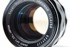 PENTAX Super Multi Coated Takumar 50mm F1.4  M42  Lens  SN5737117