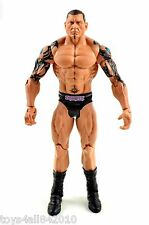 Batista *USED* WWE MATTEL BASIC WWF Evolution Flashback Wrestling FIGURE- s92