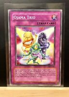 Ojama Trio - DCR-047 - Common - Unlimited Edition - Mint, Unplayed Yugioh Card