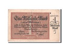 Billets, Allemagne, Essen, 1 Milliard Mark 15.9.1923 #45284