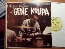 VERVE CLEF TRUMPETER DG LP RECORD MONO MGV 8204GENE KRUPA/JAZZ RHYTHMS/EX