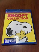 Snoopy Collection (Blu-ray; four movies; And digital copies)