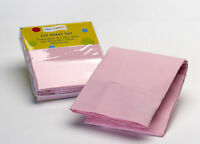 Baby: Pink Plain Dyed Cot Sheet by Jiggle & Giggle | 100% Cotton