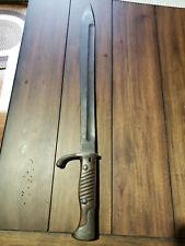 Ww1 German Bayonet Sword Waffenfabrik Mauser A.G. Oberndorf a.N.