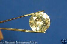Huge & Rare 4.55ct VVS Natural Ceylon White Sapphire Brilliant Diamond Solitaire